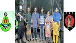অবৈধ ভাবে ভারতে অনুপ্রবেশকারী ৫ জন বাংলাদেশীকে আটক করেছে র্যাব